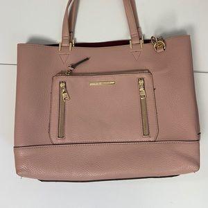 Steve Madden Pink Tote Laptop Bag
